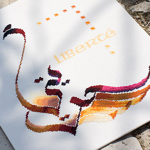 Cultures et Calligraphies au point de croix